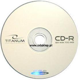 Titanum CD-R 700MB (szpula 100 szt.)
