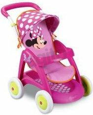 Smoby Spacerówka Minnie Mouse Z Daszkiem 101336