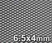 GJK Styling Siatka tuningowa Czarna 6,5mm x 4mm 100cm x 30cm BL 6X4 30X100