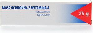 Hasco-Lek Maść z witaminą A 25 g