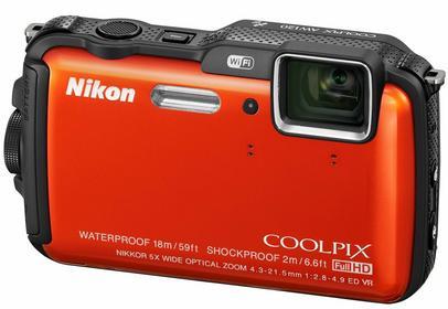 Nikon Coolpix AW120 pomarańczowy