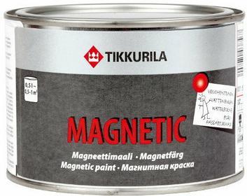 Tikkurila Farba magnetyczna Magnetic 0.5L Szara