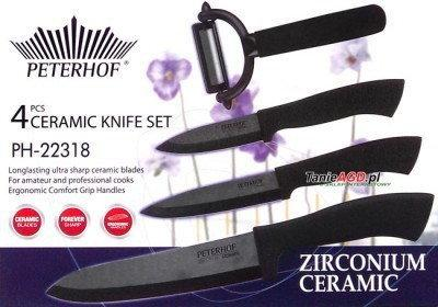 Peterhof Zestaw noży ceramicznyCH 4 ELE. [PH-22318]