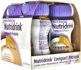 N.V.Nutricia Nutridrink Compact Protein o smaku mokka 4x125 ml