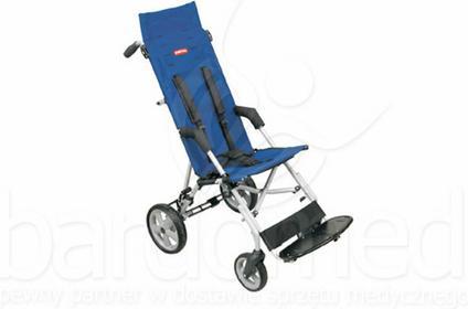 Mobilex Wózek inwalidzki dziecięcy spacerowy Patron Corzino Classic szer. 42
