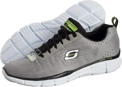 Skechers Equalizer Quick Reaction 51368LGBK szary