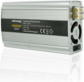 4World PRZETWORNICA SAMOCHODOWA DC 12V-AC 230V 400W Z USB 06581 ZAS4WOPRZ0005