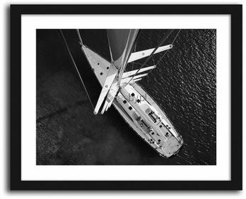 Feeby Jacht 2, Obrazy w ramie - Czarny