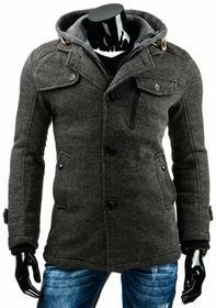 DStreet Płaszcz męski szary (cx0308)