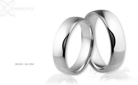 Eminence Obrączki srebrne - wzór Ag-184
