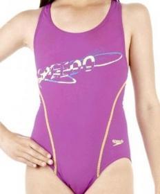 Speedo Dziecięcy strój kąpielowy Pulseaction Purple
