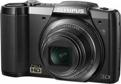 Olympus SZ-20 3D czarny