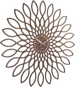 Karlsson ścienny Sunflower walnut by KA5573