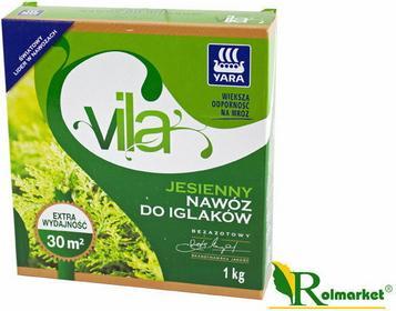 Yara Vila nawóz jesienny do iglaków 1kg
