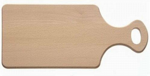 THK Deski drewniane Deska do krojenia z uchwytem 39x20x1,5