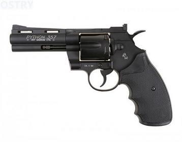CyberGun Rewolwer ASG GNB Colt Python 4 .357 Black (180310)