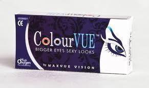 Maxvue Vision Big Eyes - Cool Blue 2 szt.