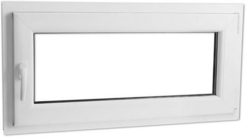 vidaXL Okno prawe z PCV 800 x 400 mm dwuszybowe