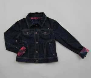 Tommy Hilfiger Klasyczna kurtka jeansowa 6-7T