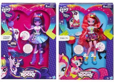 Hasbro My Little Pony Equestria Girls - Lalka Piosenkarka Pinkie Pie A6781