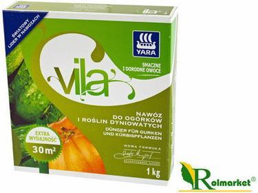 Yara Vila nawóz do ogórków i roślin dyniowatych 1kg
