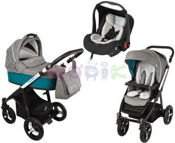Baby Design Lupo Husky 3w1 turkusowy