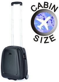 Puccini Mała walizka ABS01 D czarny