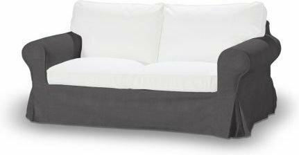 Dekoria Pokrowiec na sofę Ektorp 2-osobową, nierozkładaną Etna grafitow