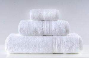 Greno Biały Ręcznik Kąpielowy Egipska Bawełna Egyptian 70x140