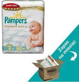 Pampers Premium Care 3 Midi 160 szt.