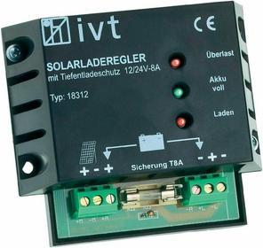IVT Regulator solarny 12/24 V 8 A