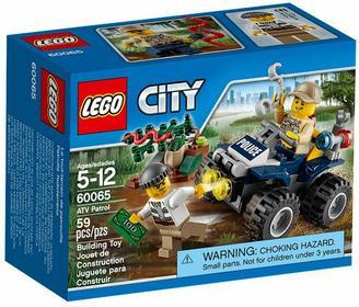 LEGO City - Patrolowy quad 60065