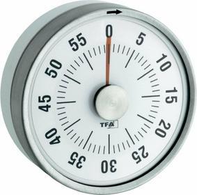 Minutnik TFA 38-1028-02 60 min. biały