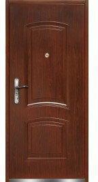 Drzwi wejściowe wewnątrzlokalowe RA08 80 Prawe Ciemny Orzech