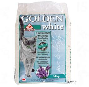 Żwirek Golden White - 2 x 14 kg