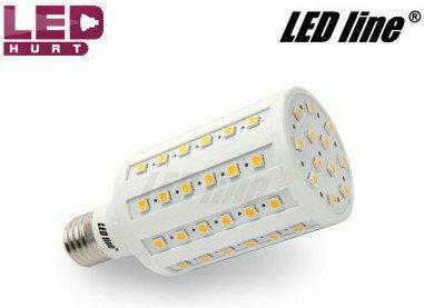 LED Line Żarówka LED E27 11W 72SMD5050 biała ciepła 242502