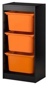 Regał czarny/pomarańczowy TOR 291.323.59