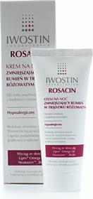 Iwostin ROSACIN Krem na noc zmniejszający rumień w trądziku różowatym 40ml