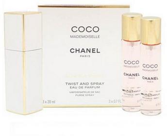 Chanel Coco Mademoiselle woda perfumowana 3x20ml