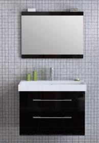 Elita BARCELONA 80 Black - szafka pod umywalkę wisząca