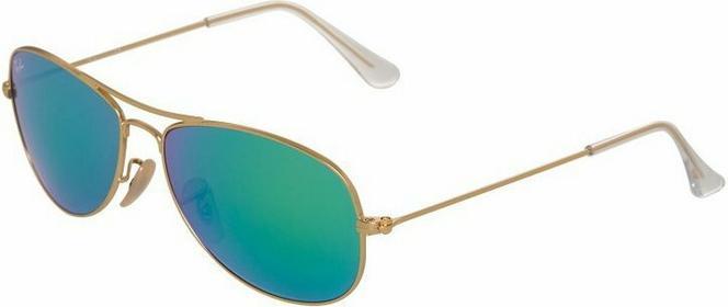 Ray Ban Ray-Ban COCKPIT Okulary przeciwsłoneczne gold 0RB3362