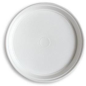 Ossa Talerz jednoraz. białe plast 100 szt. śred.220mm - P0510 NB-3159