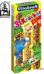 Vitakraft Krakersy dla papużek falistych - 2 x 3 Miód/Jajko/Owoc