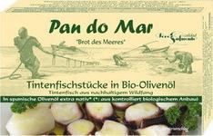 Macki kałamarnicy w oliwie z oliwek 120g BIO - Pan Do Mar