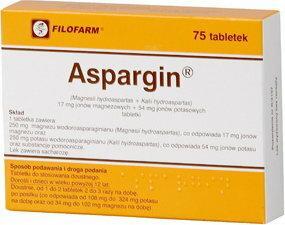 Filofarm Aspargin 75 szt.