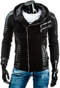 czarna męska kurtka (tx0978)