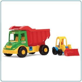 Wader Multi Truck ze Spychaczem Buggy