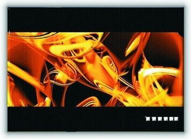 Golden abstract rendering - Obraz na płótnie
