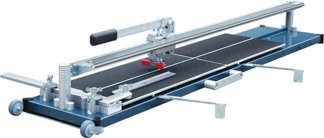 Kaufmann maszyna do cięcia glazury TopLine PRO 1250mm ze wspornikiem, dwie prowadnice