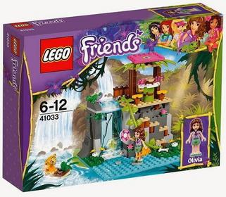 LEGO 41033 Friends - Dzikie wodospady